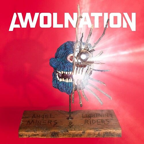 Awolnation ‎– Angel Miners & The Lightning Riders Red Vinyl