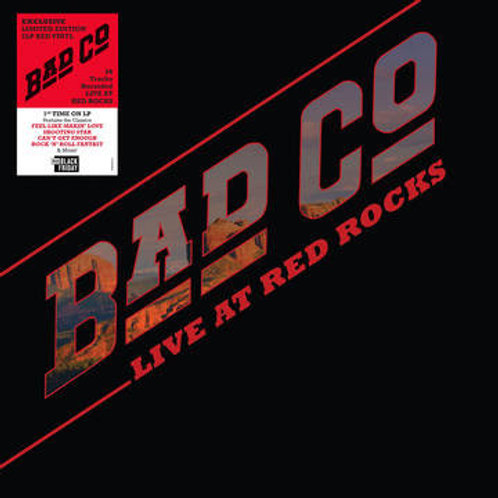Bad Company (3) ‎– Live At Red Rocks