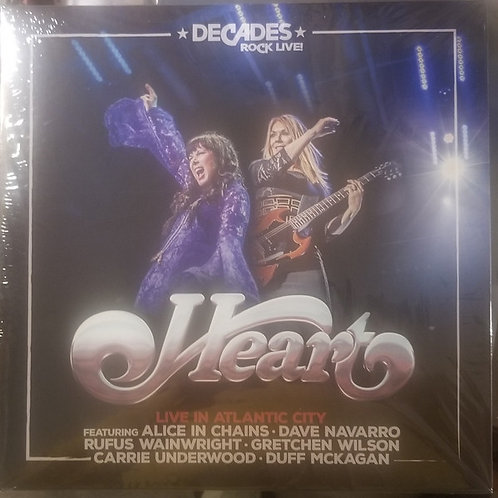 Heart ‎– Live In Atlantic City (LP)