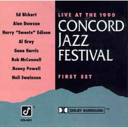 Live At The 1990 Concord Jazz Festival, First Set (CD)