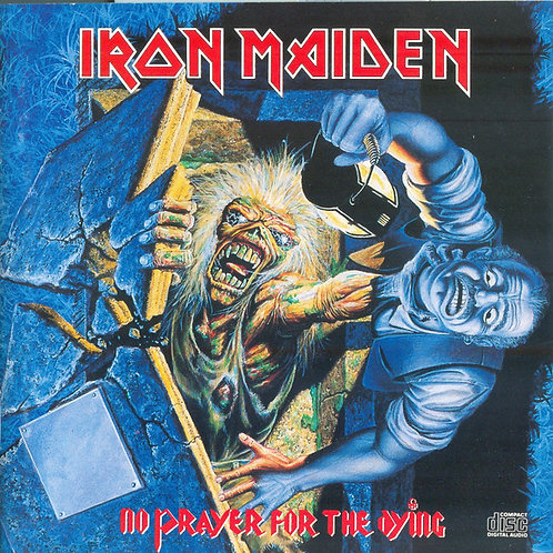 Iron Maiden ‎– No Prayer For The Dying CD