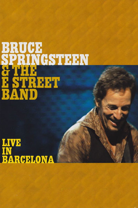 Bruce Springsteen & The E Street Band*–Live In Barcelona (Dvd Used)