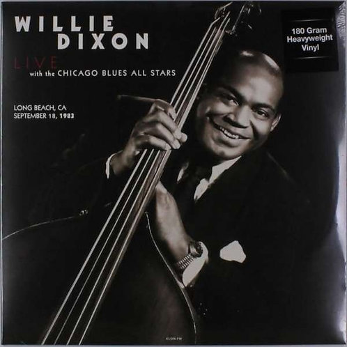 Willie Dixon With the Chicago Blues All Stars - Long Beach. Ca. September 18. 19