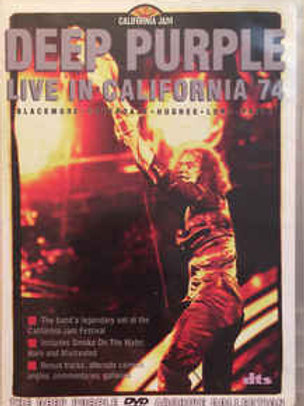 Deep Purple ‎– Live At The California Jam 1974 (Dvd Used)