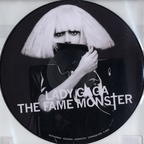 Lady Gaga ‎– The Fame Monster Picture disc