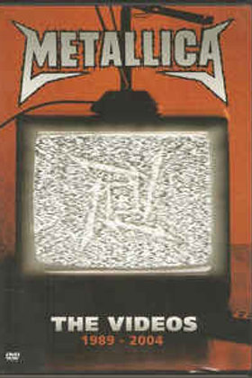 Metallica–The Videos 1989 - 2004 (Dvd Used)