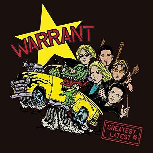 Warrant – Greatest & Latest(Limited Edition, Cherry Splatter Vinyl)