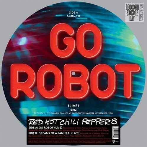 Red Hot Chili Peppers - Go Robot (Picture Disc Vinyl) (Record Store Day Exclusiv