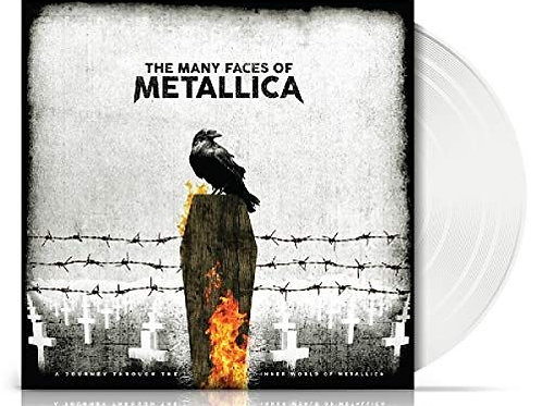 Various – The Many Faces Of Metallica limited Edition white Vinyl