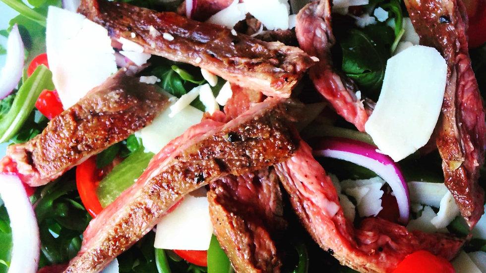 Flank Arugula Salad