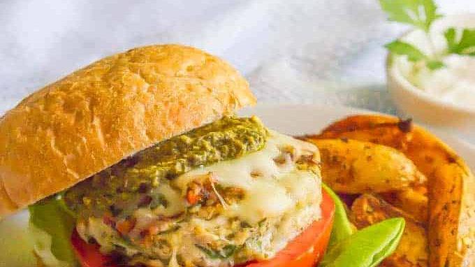 Chicken/Kale Burger