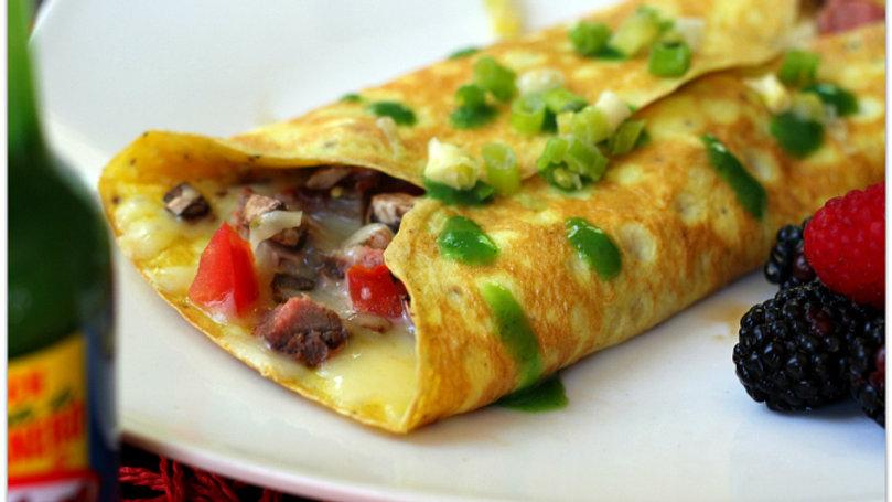 Steak Omelette
