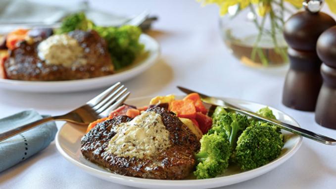 Black & Blue Steak