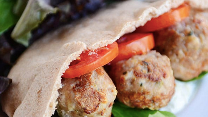 Stuffed Turkey Pita