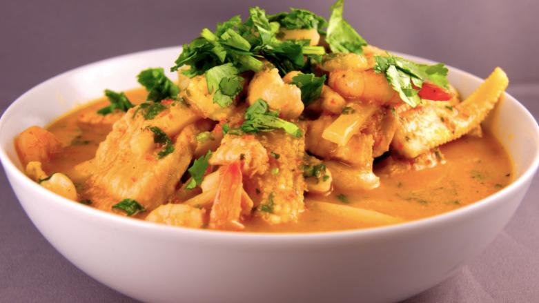 Thai Curry Chicken & Spinach Ravioli