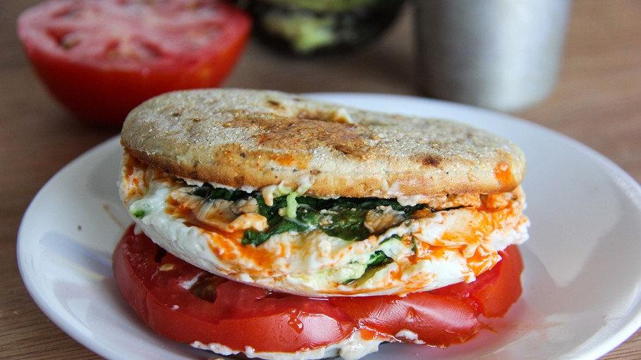Egg White Patty Sandwich