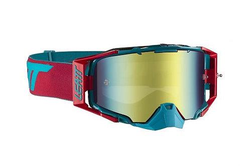 LEATT Goggle Velocity 6.5 Iriz Red/Teal Bronz 20%