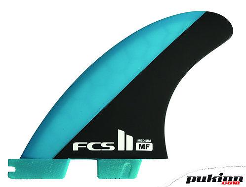 FCS II Mick Fanning Tri Fins Medium
