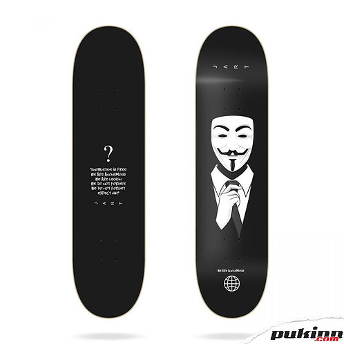 "Anonymous 8.25""x31.7"" HC Jart Deckck"