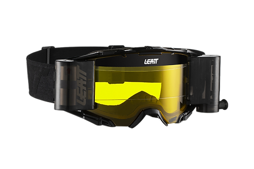 LEATT Goggle Velocity 6.5 Roll-Off Blk/Gry Yellow 79%