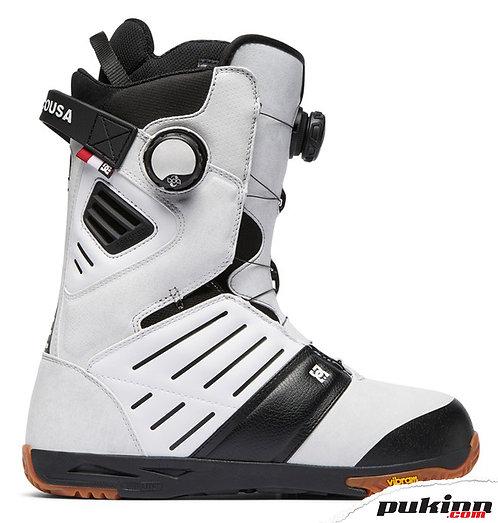 DC JUDGE M BOAX SNOWBOARD BOOTS WHITE
