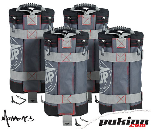 E-ZUP WEIGHT BAGS, 4 PC.