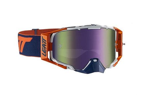 LEATT Goggle Velocity 6.5 Iriz Org/Ink Purple 30%