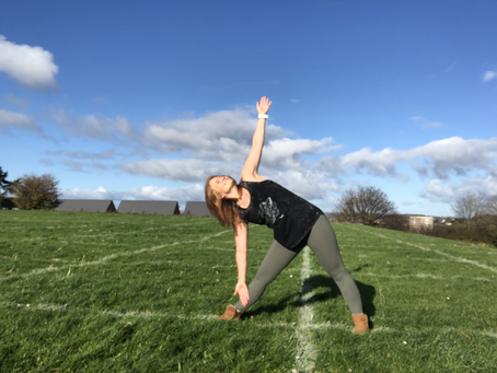 The Power of Three- Tricky Trikonasana or Triangle Pose