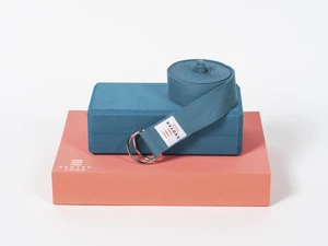 yoga brick, block and belt