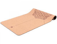 best cork mat with beautiful flower of life design