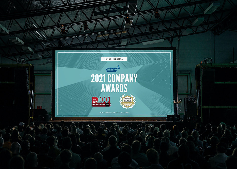 worlds greatest TV Show company awards presentation graphic