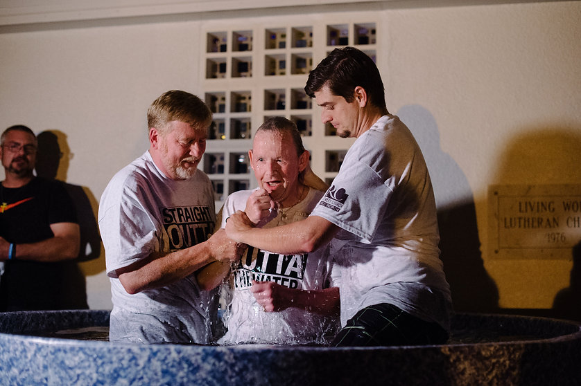 Recovery Church Movement Baptism