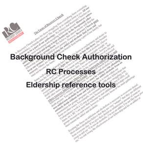 Background Check Authorization