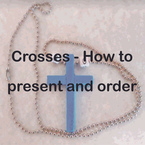 Crosses - How to Present and Order