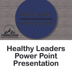Healthy Leaders Power Point Presentation