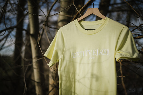 Butter Yellow Tee