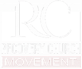 Recovery Church Movement Logo White Transparent
