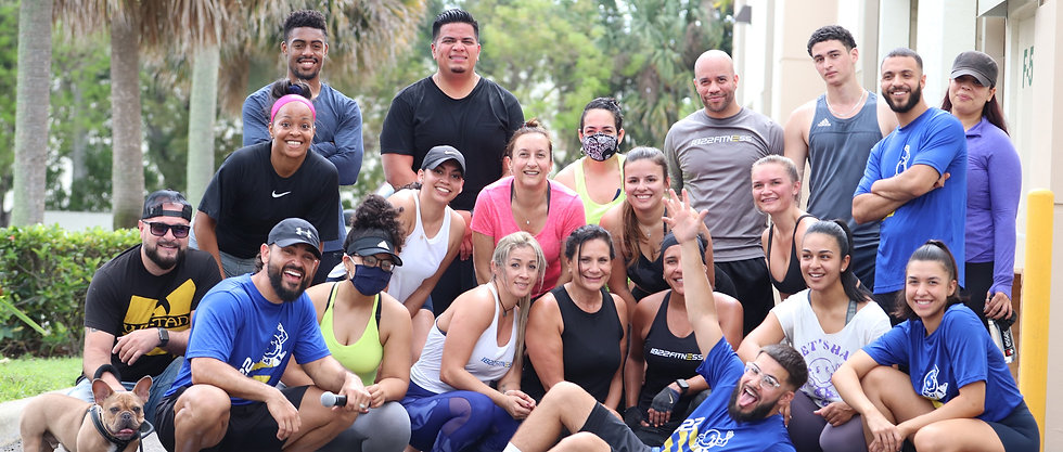 1822 Fitness Personal Trainer West Palm Beach Group Picture