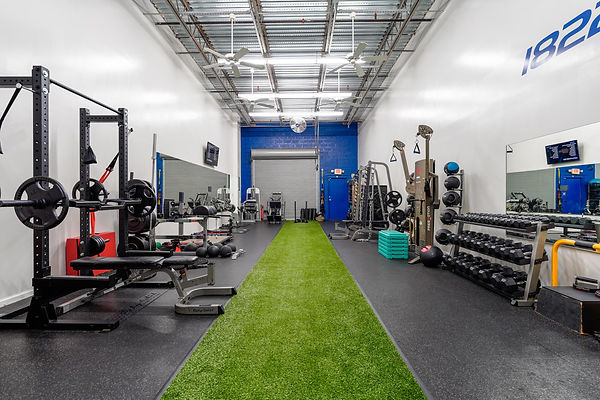 1822 Fitness Gym Interior
