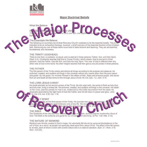 The Major Processes of Recovery Church