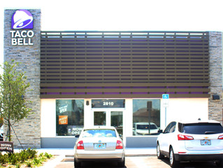 Tacoooooooos!    Taco Bell on Osceola Pkwy is finally complete, and was made to order!