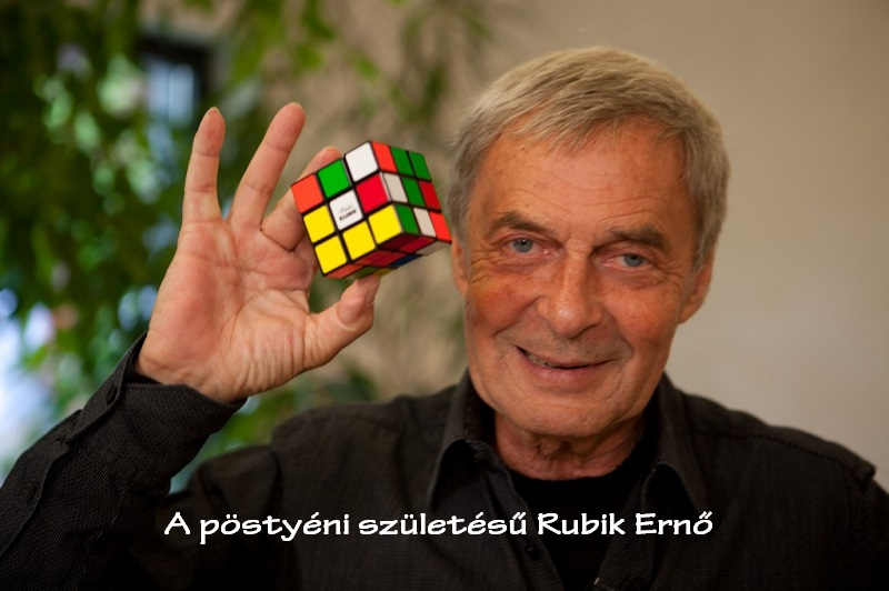 A pöstyéni születésű Rubik Ernő
