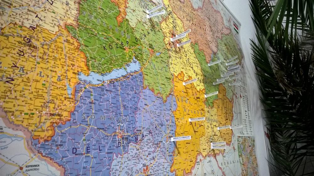 Medical térkép 2