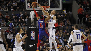 Doncic's triple-double lifts Mavs past Pistons in Mexico