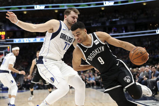 Doncic helps Mavs pull away in 4th for 123-111 win over Nets