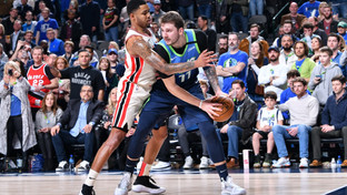 Luka Doncic dazzles with career night from 3-point range to lead Mavericks past Blazers