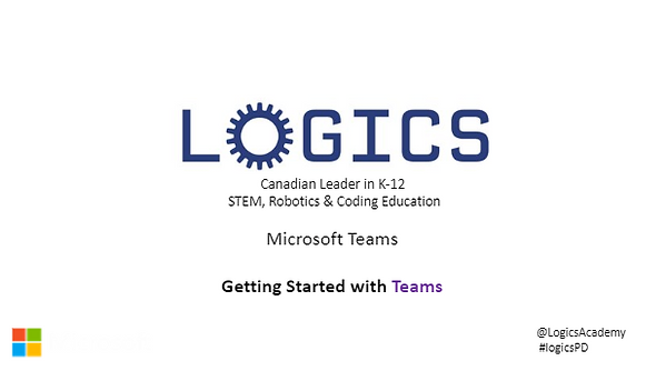 LOGICS Getting Started with Teams Image.