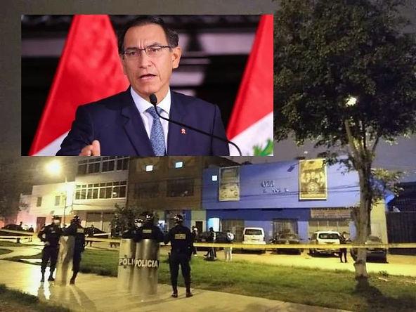Vizcarra pide máxima sanción para responsables que organizaron evento donde 13 jóvenes murieron