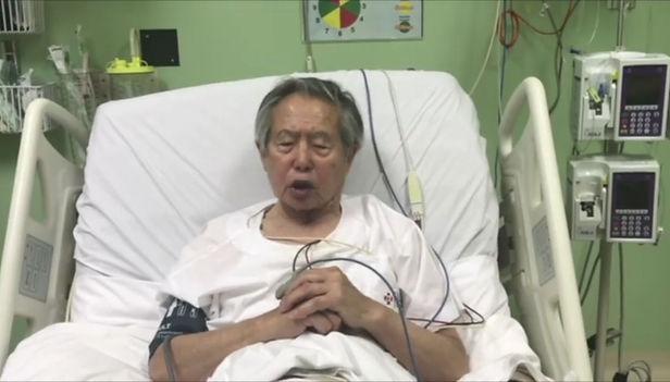 Alberto Fujimori se recupera de descompensación