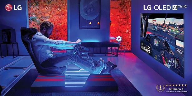 Televisores LG se adecuan a tres tipos de experiencia para disfrutar del cine, deportes o videojuegos